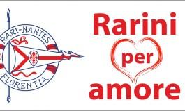 'Rarini per amore' e lo sport diventa solidale grazie alla 'lista di nozze' del Presidente Pieri e della futura consorte