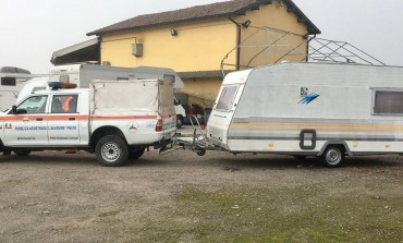 Il Circolo MCL di Vergaio a Prato dona ancora una roulotte ai terremotati, stavolta a Visso in provincia di Macerata
