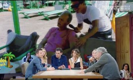 Giacomo Carolei in diretta su Rai Uno per festeggiare 10 milioni di visualizzazioni ai suoi video su Facebook