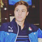 Federico Chiesa con la maglia azzurra a Cracovia contro la Polonia Under 21
