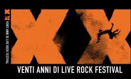 """'XX - Venti anni di Live Rock Festival"""", esce il libro  che documenta la manifestazione di Acquaviva"""
