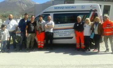 """Nuova missione a Norcia per la Sezione di Cantagallo della Pubblica Assistenza """"L'Avvenire"""" Prato"""