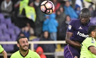 """Colpo di testa da campione di Babacar che salva la Fiorentina e manda un messaggio a Sousa senza esultare.""""Vorrei giocare di più"""" dirà poi"""