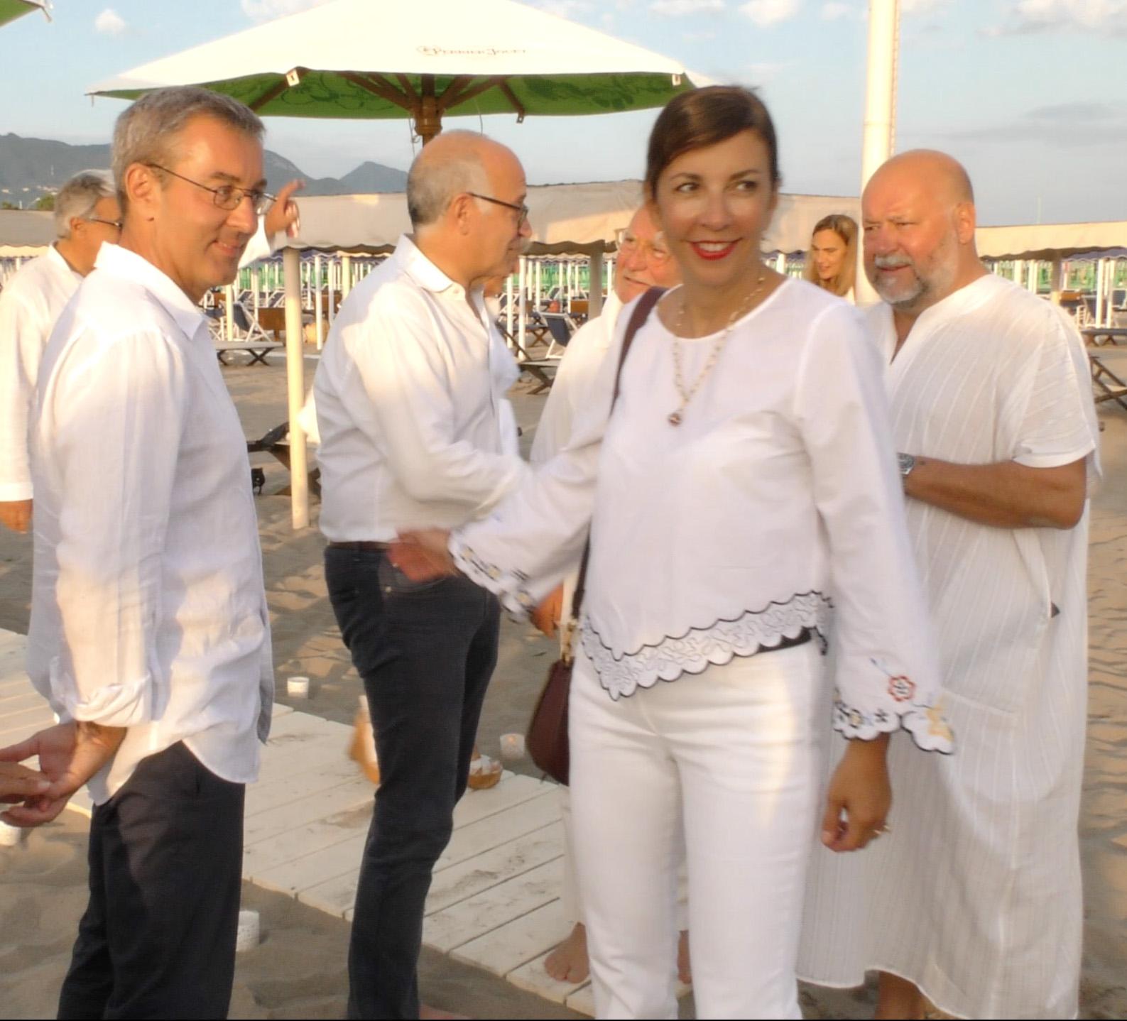 Maria Antonietta Gudgeld e Fabio Fusco