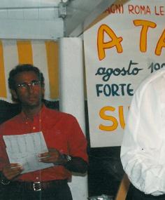 Carlo Conti presentatore nel 1993