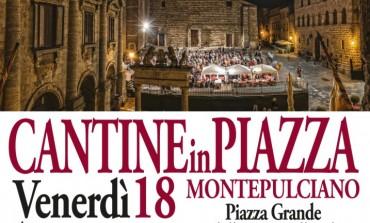 'Cantine in Piazza': il Vino Nobile di Montepulciano è il protagonista dell'estate