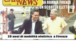 Veicoli elettrici innovativi in p.zza Signoria