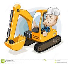 Escavatore elettrico in azione