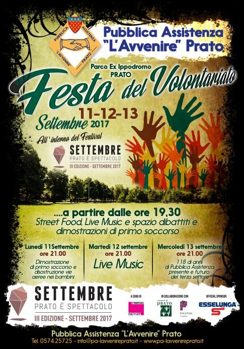 Festa del Volontariato 2017 Prato