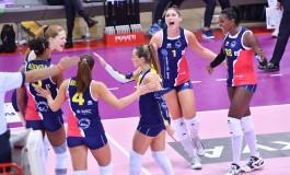 Volley Serie A1F / La Savino Del Bene doma Pomì Casalmaggiore 3 a 0