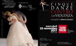"""Cinque danze contro la violenza"""", il coreografo Alberto Canestro e la Lyric Dance Company rappresentano il dramma della violenza di genere"""