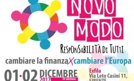 Cambiare la finanza per cambiare l'Europa: a Firenze la 4^ edizione di 'Novo Modo'