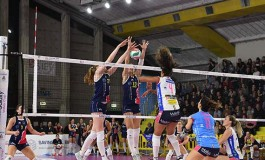 Volley Serie A1F, la Savino Del Bene si arrende al Novara