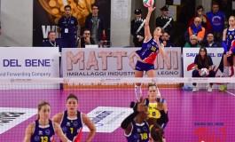 Volley serie A1F, La Savino Del Bene vince, convince e fa sognare contro la Lardini Filottrano (3-0)