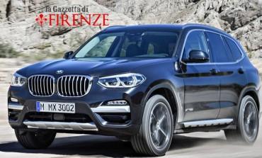 Primo test sulla montagna pistoiese della nuova versione 2018 della BMW x3