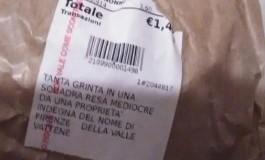 """Scoop di Lady Radio. Vai a comprare il pane al  supermercato e nello scontrino trovi: Della Valle vattene"""""""