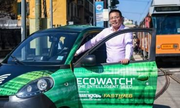 ECOMONDO / Premiata Share'ngo: il car sharing diventa una stazione per rilevare i dati ambientali