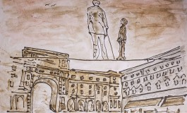Ex Leopoldine, 'Anime libere, Firenze e la sua gente' la personale di Marco Burchi