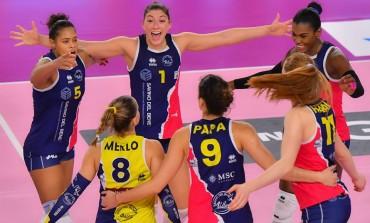 Volley Serie A1F, ancora la Saugella Team Monza sul cammino della Savino Del Bene Volley