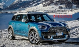 Provata la nuova Mini Countryman All4 2108