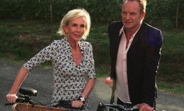 Vino, Sting con la moglie Trudie  madrino di Anteprime di Toscana alla Fortezza che ospita anche BuyWine