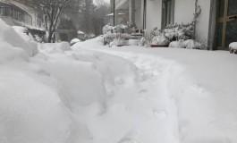 Oltre mezzo metro di neve sul monte Amiata. A rischio neve anche Livorno