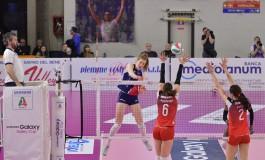 Volley Serie A1F, la Savino Del Bene recupera contro Busto e conquista il secondo posto in regular season