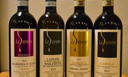 Serata dedicata alle Langhe con Prosciutto Dop, formaggi  Bra e Raschera bagnati dai vini della Cantina Le Strette