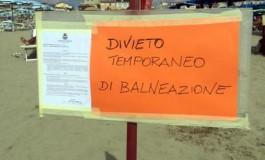 Divieto di balneazione a Viareggio e Rosignano