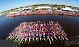 A Firenze il festival mondiale di Dragon Boat delle Donne in Rosa
