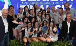 Final Six pallanuoto femminile Serie A1, il Plebiscito Padova Campione d'Italia