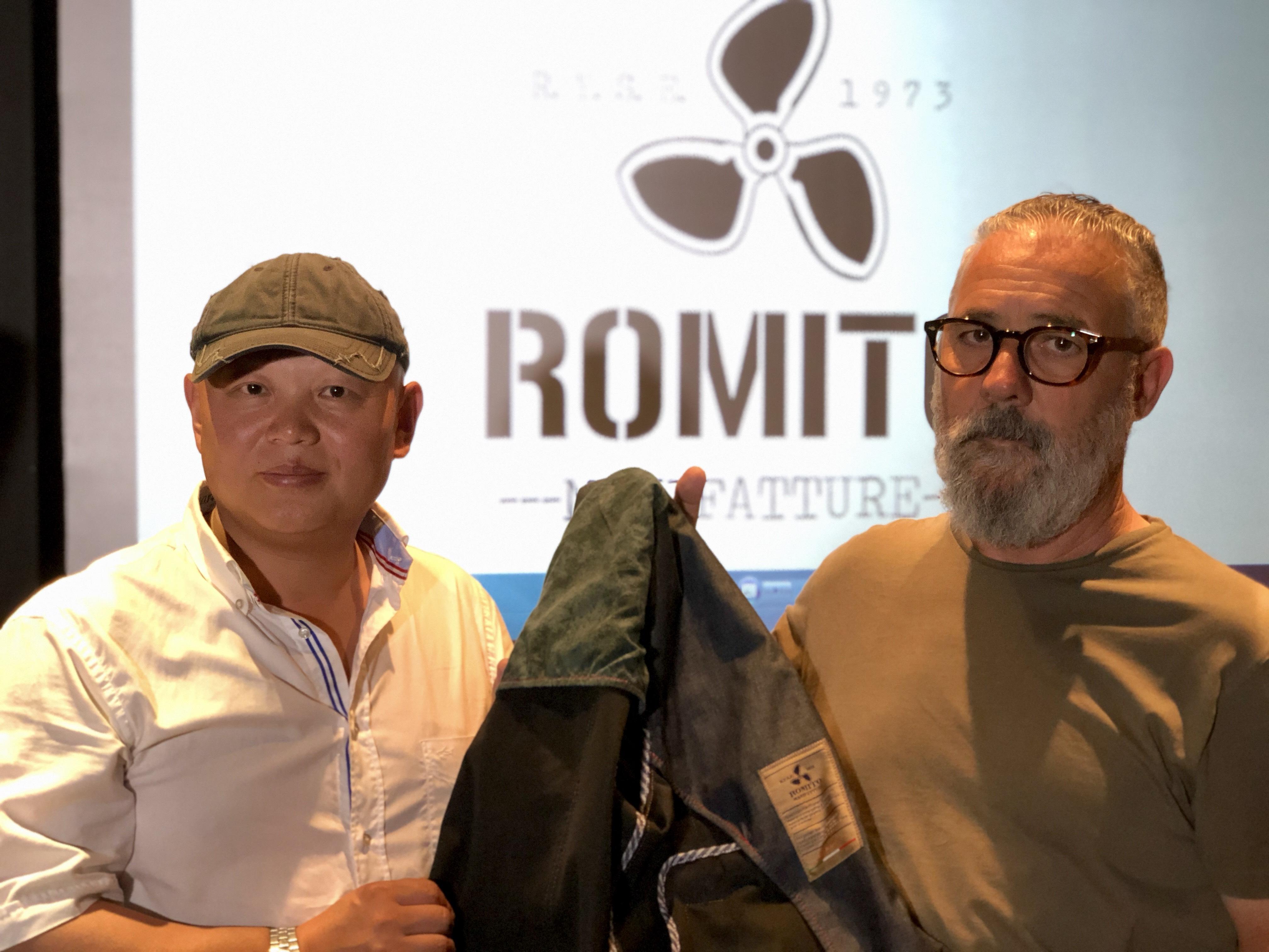 Romito Manifatture anteprima Pitti Immagine giugno 2018