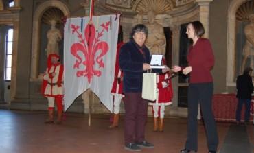 Biennale del Premio di tutte le Arti: Andrea Stella premiato nel Salone dei Cinquecento