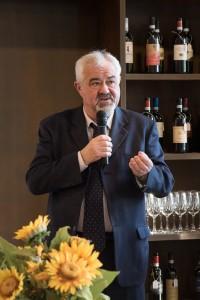 Piero Di Betto, presidente del Consorzio vino Nobile di Montepulciano