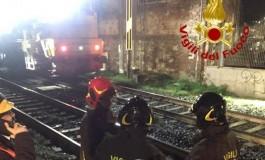 Nella notte treno merci urta piattaforma. Gravi tre operai sbalzati sulla massicciata