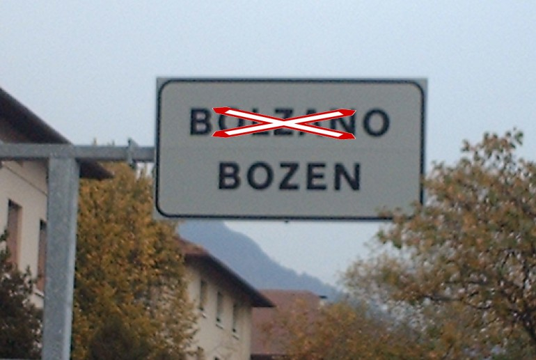"""La lingua italiana sta per sparire nel Trentino. Solo il tedesco. Ma i soldi (tanti) che riceve sono italiani. Colpa di Renzi:""""Solo amici ai posti chiave"""""""