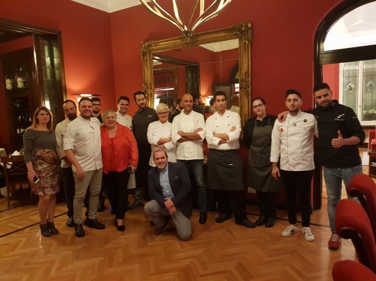 """Successo di chef fiorentini al  """"Best Plate Challenge"""".Cena a 12 mani al Regency"""