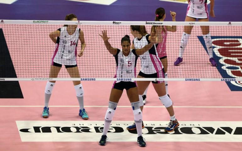 Volley serie A1 F, Al Bisonte il derby, Savino del Bene sesta accede ai play off