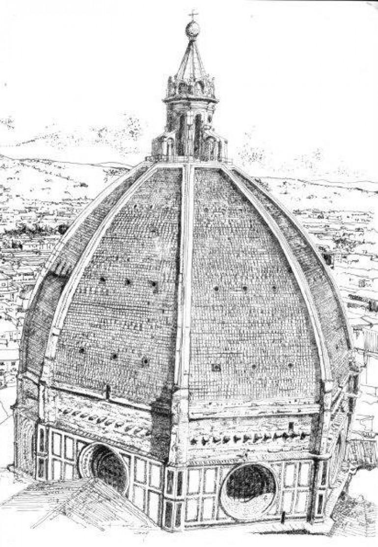 I disegni di architetture del professor Roberto Corazzi<br> Mostra al Caffè Astra al Duomo
