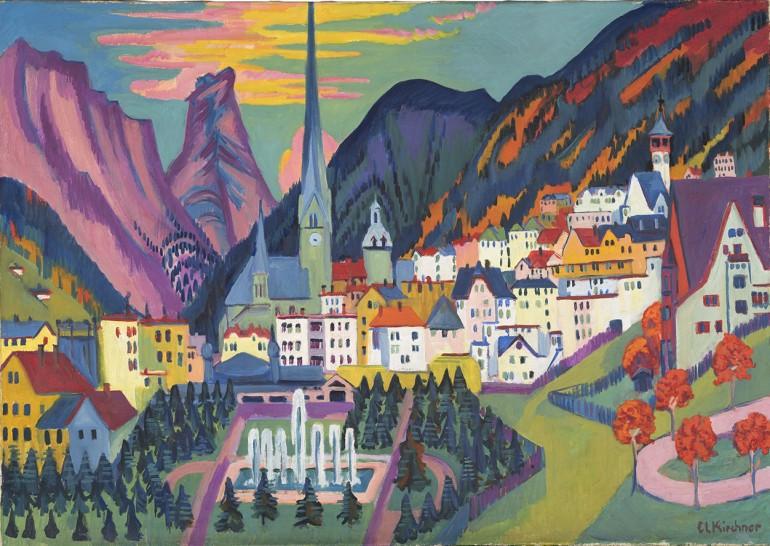 L'espressionismo di Kirchner in mostra a Cecina