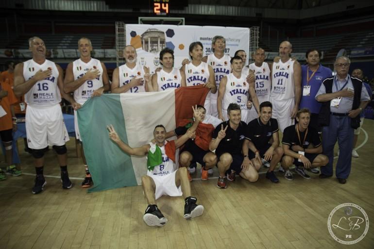 Doppietta d'oro per l'italia ai mondiali FIMBA