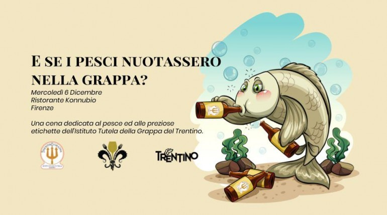 Al Konnubio il pesce incontra le preziose grappe del Trentino