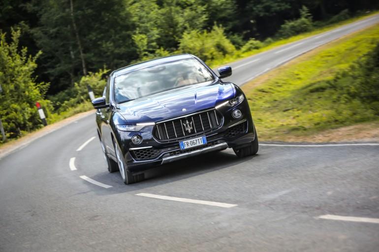 Maserati Levante con motore V8 nelle versioni GTS e Trofeo al Salone di Los Angeles