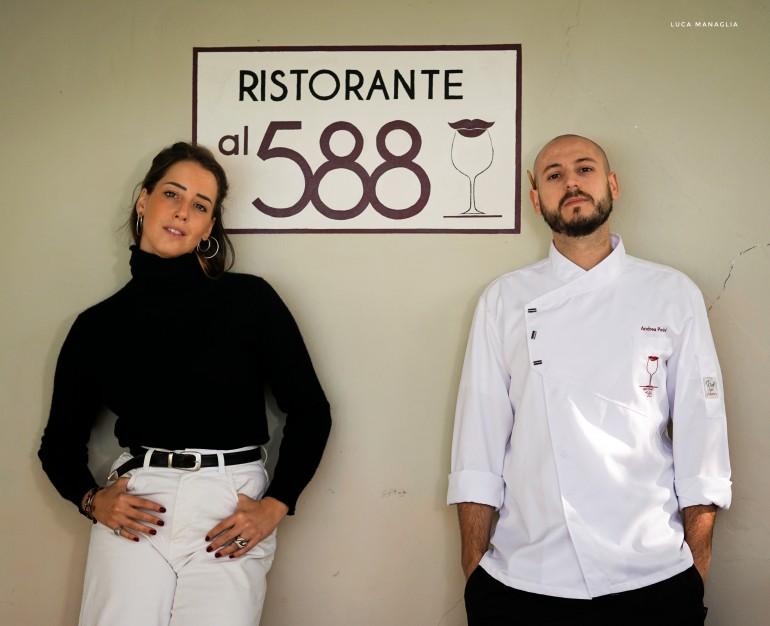 Lo chef Andrea Perini in tour